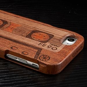 Accessories - Retro wood carved cell phone case cover unique